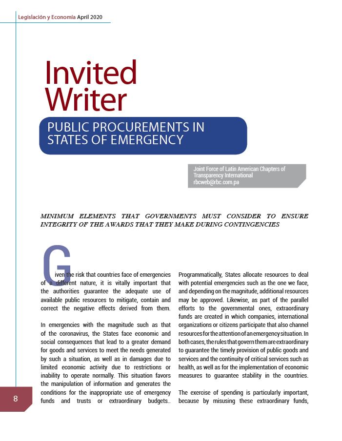 Invited Writer